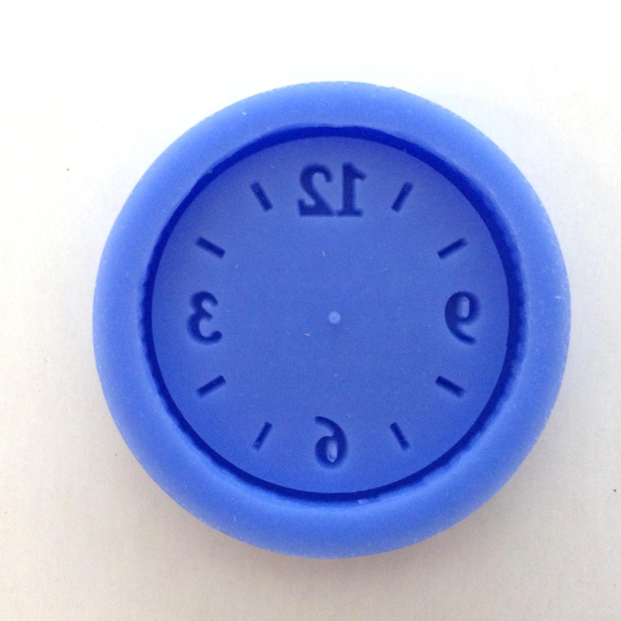 """Силиконовый молд """"Часы"""" (код 05240)"""