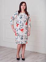 Очень красивое женское платье Лилиана белое