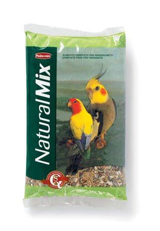 Padovan NATURALMIX PARROCCHETTI Основний корм для середніх папуг (нерозлучники, кореллі) 25кг