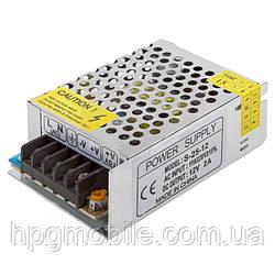 Блок питания для светодиодных лент 12 В, 2 А