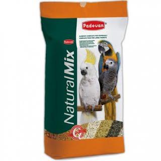 Padovan NATURALMIX PAPPAGALLI Основний корм для великих папуг 18кг