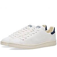 Оригинальные  кроссовки  Adidas Stan Smith OG Primeknit Chalk White & Navy