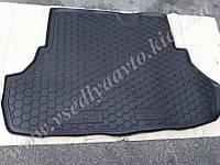 Коврик в багажник MITSUBISHI Lancer X с 2007 г. седан (AVTO-GUMM) пластик+резина