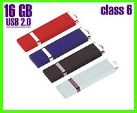 Белая флешка 16 ГБ, USB 2.0, красивый дизайн!, фото 1