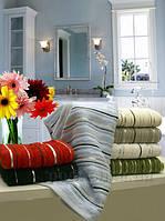 Махровое полотенце Arya Floslu 90х150 см белый