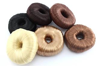 Бублик для пучка из искусственных волос (7 см)