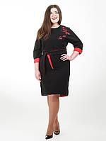 Нарядное платье для пышных дам Сакура