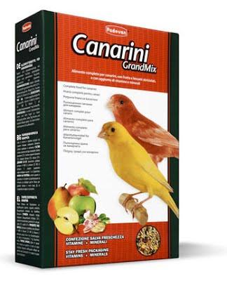 Padovan GRANDMIX CANARINI Комплексний корм для канарок.0,400 кг