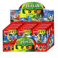 Конструктор лего ниндзя. Набор конструкторов Ninja A32035, в коробке 12 шт, 6 видов. Конструкторы Ниндзя, лего