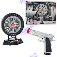 Детский Тир. Пистолет с мишенью Лазерный. 2148