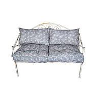 Диван кованый 120х60 с подушками
