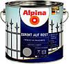 Эмаль гладкая ALPINA DIREKT AUF ROST антикоррозионная (RAL 8017 Шоколадно-коричневый) 0,75л