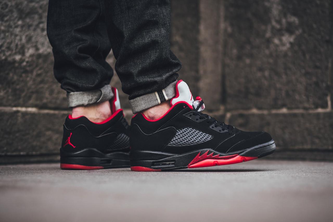 Кроссовки Nike Air Jordan 5 Retro Low 819171-001 (Оригинал) - Football Mall 102e7d7d88d