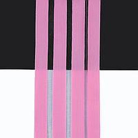 Танцевальная резинка с леской для костюмов, нарядов и выступлений розовый