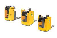 Электрическая тележка с платформой / боковым сиденьем для оператора ESE 120/220/320 (2.000 kg)