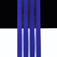 Танцевальная резинка с леской для костюмов, нарядов и выступлений синий