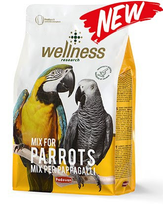 Padovan Wellness pappagalli Комплексний корм для папуг (жако, apa, амазон, какаду) 2,5 кг