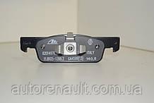 Передние тормозные колодки на Рено Логан II 2012-> RENAULT (Оригинал) 410602581R