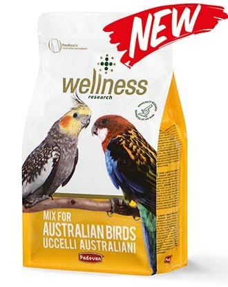 Padovan Wellness parrocchetti australian Комплексний корм для австралійських папуг (корелл, розелла) 0,850 гр