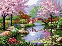 """Набор для вышивки камнями """"Японский сад"""""""