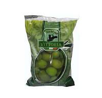 Оливки Vittoria (Зелёные оливки) 500г. Италия