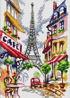 Парижское кафе. Картина своими руками.
