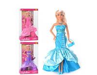 Кукла Принцесса Defa Lucy в вечернем платье, с сумочкой и туфлями