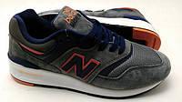 Мужские кроссовки  New Balance 997 серого цвета