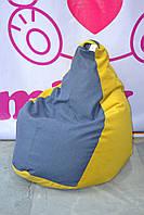 Бескаркасное кресло пуф груша, фото 1