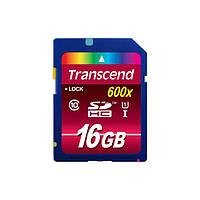 Карта памяти Transcend SDHC 16 GB Ultimate 600x