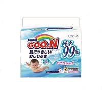 Влажные салфетки GOO.N для чувствительной кожи 210 шт (3 мягких сменных блока по 70 шт)
