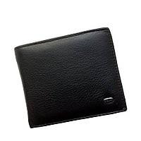 Мужской кошелек из натуральной кожи Dr. Bond Classic. Кожаный кошелек - зажим. Черный и коричневый.