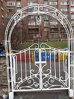 Кованые ворота арт.в 25, фото 1