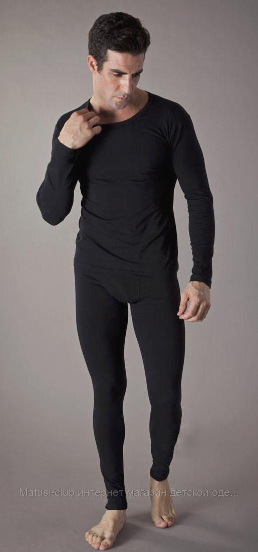 KAY-комплект теплый стретч-флис+ширинка,в наличии черный
