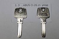 Заготовка ключа ABUS CI-26 ст. упор