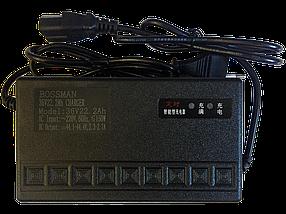 Зарядний пристрій BOSSMAN 36V/18-25Ah
