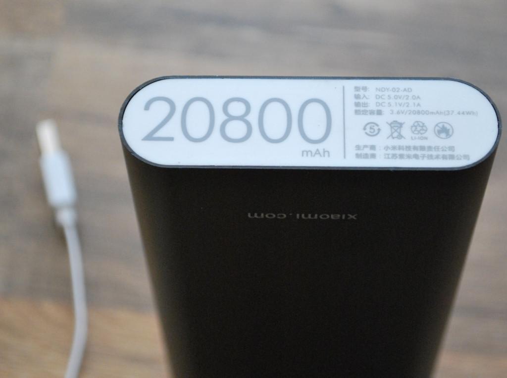 Аккумулятор Power Bank Mi Xiaomi 20 800 mAh, A150, фото 1