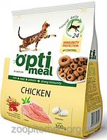 Сухой корм на развес для кошек С курицей Optimeal (Оптимил) Защита иммунитета 1 кг