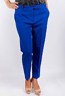 Элегантные женские укороченные брюки классического кроя со стрелками с завышенной талией и карманами по бокам белые, бордо, горчичные, персиковые,