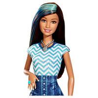 Лялька барбі Barbie Glam Hair and Nail Doll - Blu, фото 1