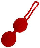 Вагинальные шарики Geisha Lastic Balls Red, размер L