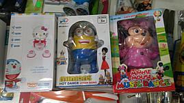 Танцующий Миньон 3010-1 Посипака (Музыкальная игрушка для детей Minions)