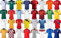 Футбольная форма национальных сборных команд по футболу