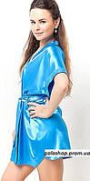 Женский халат кимоно на запах с пояском, разные цвета и размеры. Розница, опт. Украина., фото 1