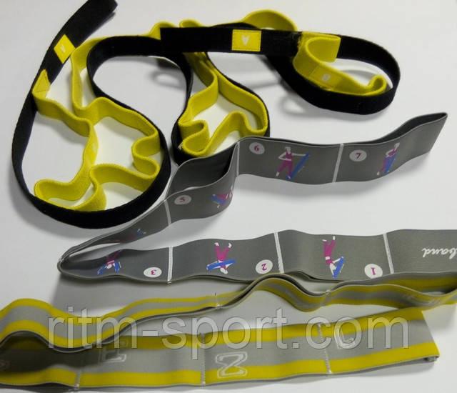 Ленты эластичные с петлями для растяжки используются в разных видах спорта, где нужна хорошая пластика и растяжка