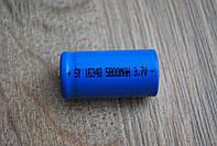 Аккумулятор 16340 емкость 5800mAh 3.7V, A197, фото 1