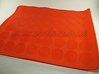Силиконовый коврик для макарун