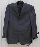 Мужской пиджак серосиний 48р