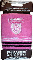 Напульсник Power System Wrist Band PS 4000 Power system, Pink