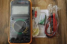 Цифровой мультиметр тестер DT 9207A, A220